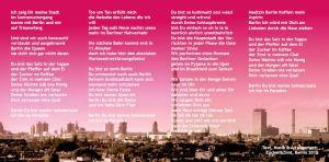 Berlin Du bist meine Sahnecream